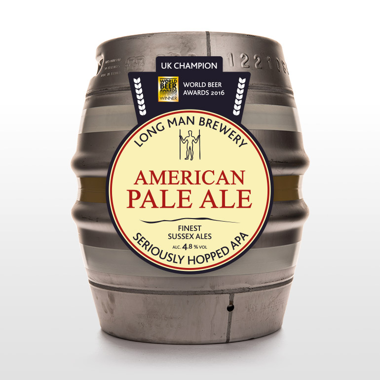 American Pale Cask - Long Man Brewery