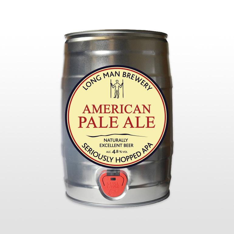 American Pale Ale - 5 Litre Mini Cask