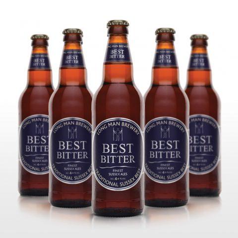 Best Bitter Bottles - Long Man Brewery