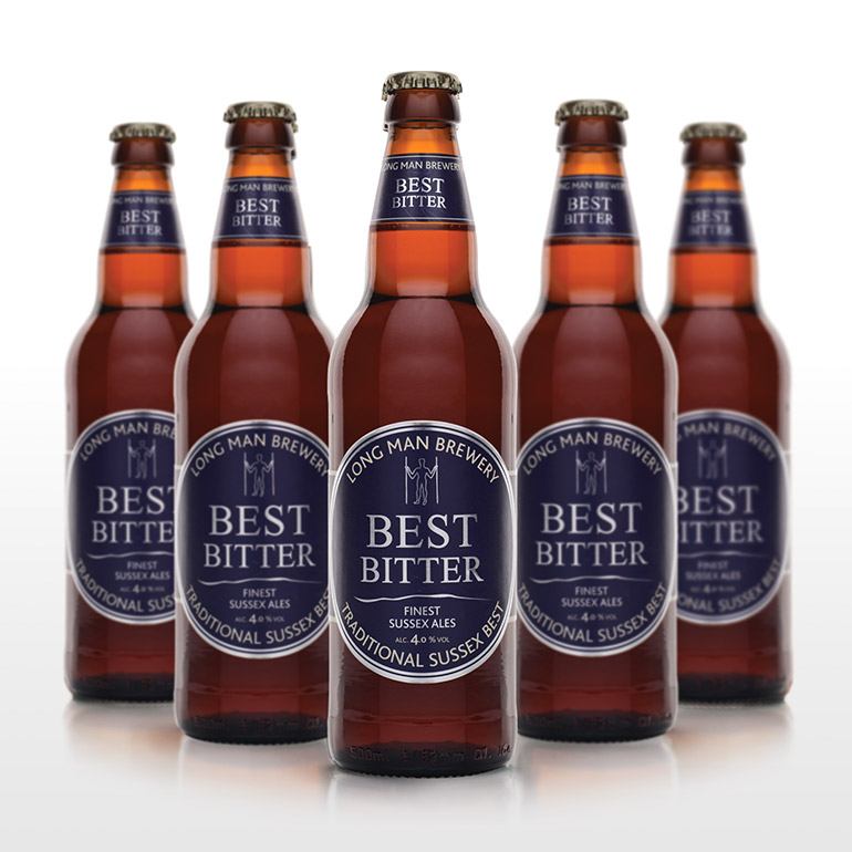 Best Bitter Bottles - Long Man Brewery
