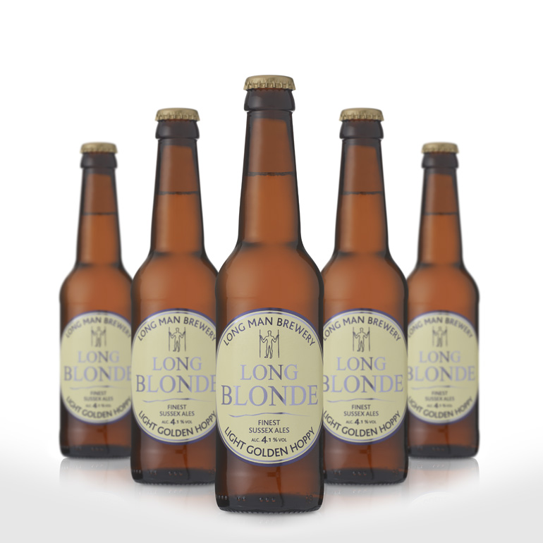 Bottle Beer Long Blonde 330ml