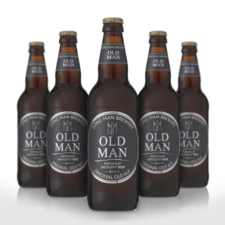 Bottled Beer Old Man