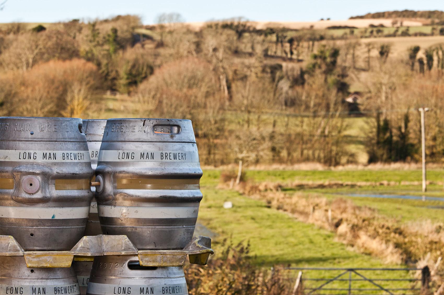 Casks Outdoors- Long Man Brewery