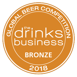 The Drinks Business - Global Beer Competition 2018 Bronze