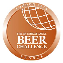 International Beer Challenge Bronze 2018