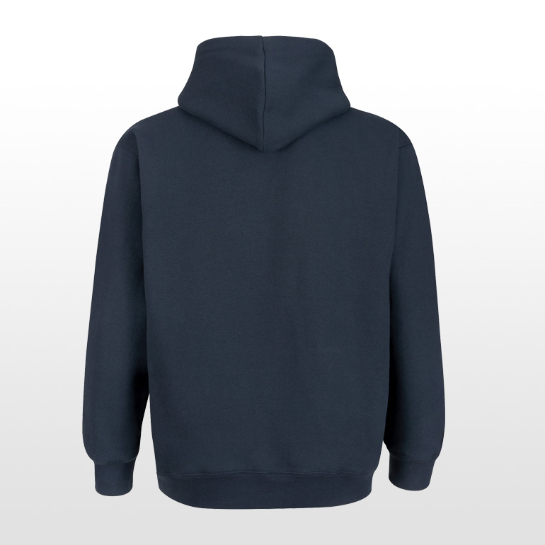 Long Man Hoody Blue - Back