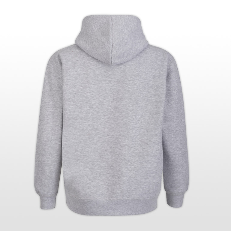 Long Man Hoody Grey - Back