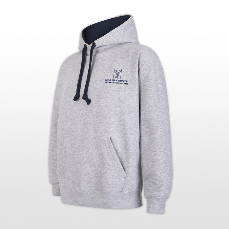 Long Man Hoody Grey - Side