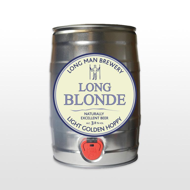 Long Blonde - 5 Litre Mini Cask