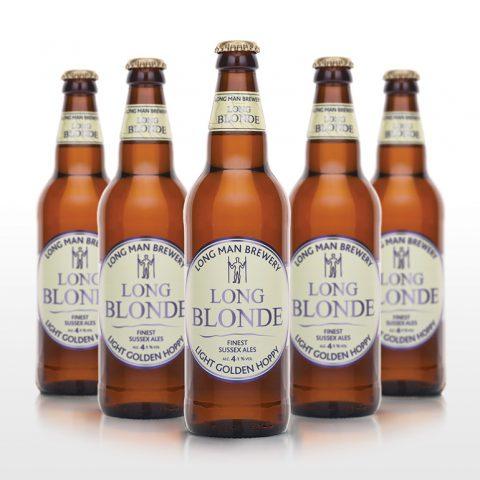 Long Blonde Bottles - Long Man Brewery