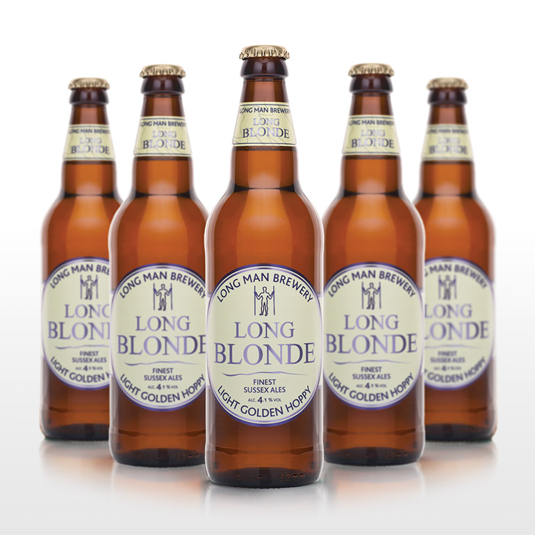 Long Blonde Bottles - Long Man Brewery