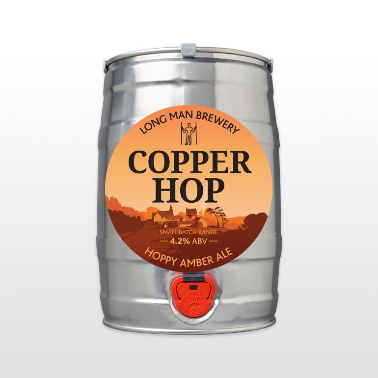 Mini Cask Copper Hop