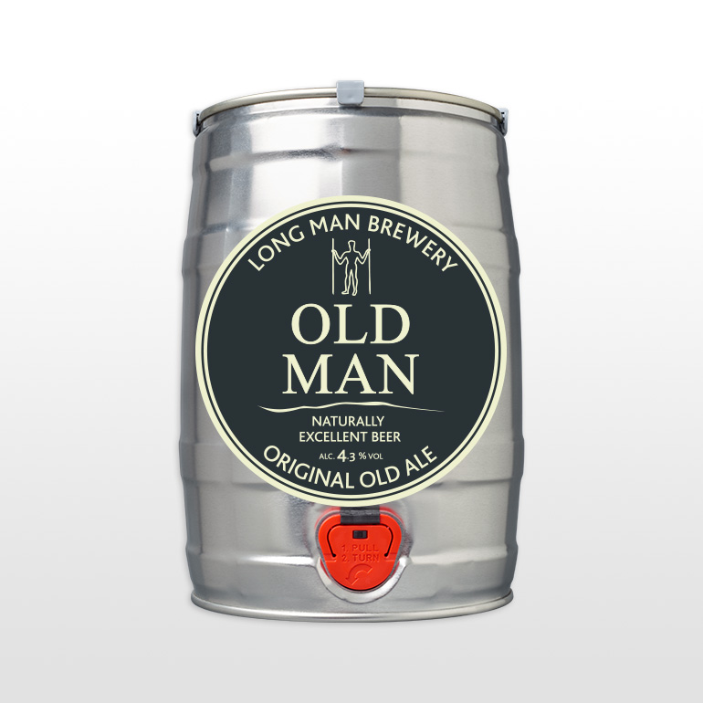 Mini Cask Old Man