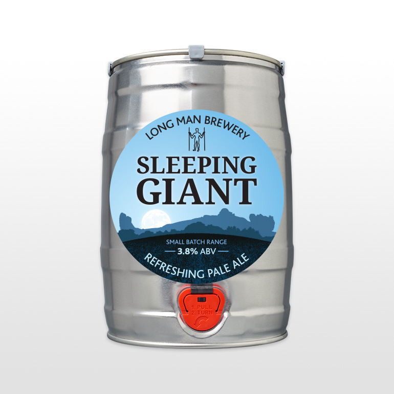 8 Pint Mini Cask - Sleeping Giant