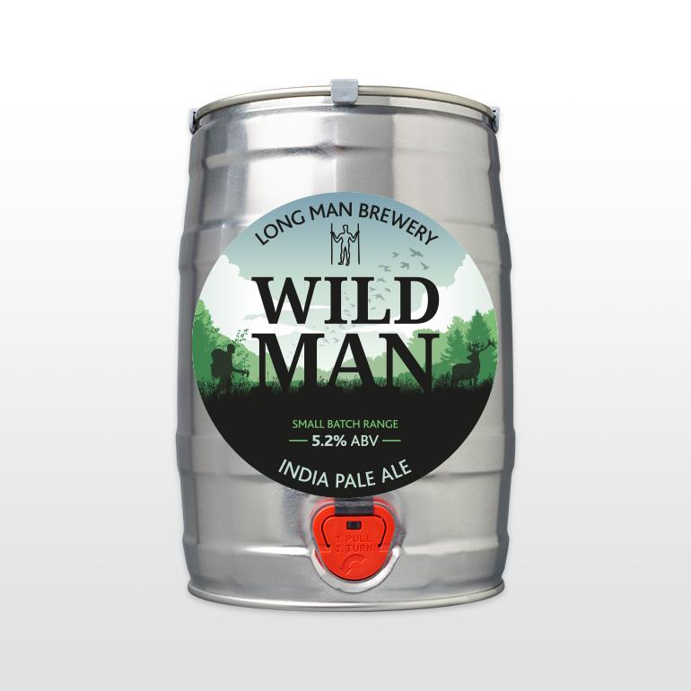 Mini Cask Wild Man