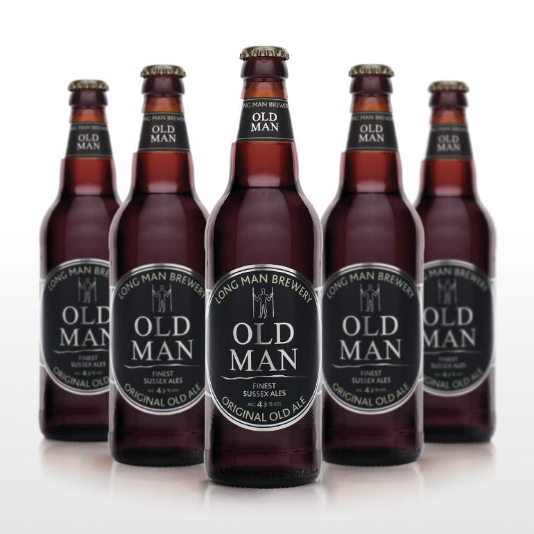 Old Man Bottles - Long Man Brewery