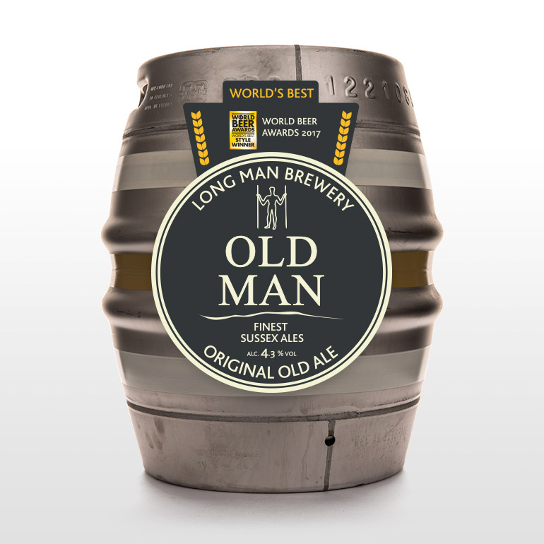 Old Man Cask - Long Man Brewery