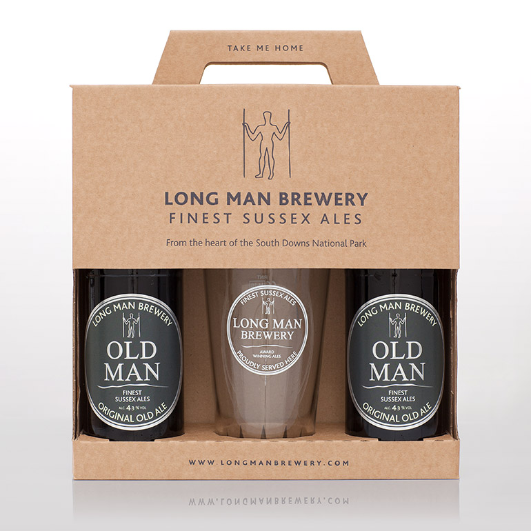 Old Man Gift Pack with Pint Glass