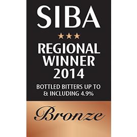 SIBA – Regional Winner - Bottled Bitters - Bronze - 2014