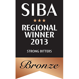 SIBA – Regional Winner - Strong Bitters - Bronze - 2013