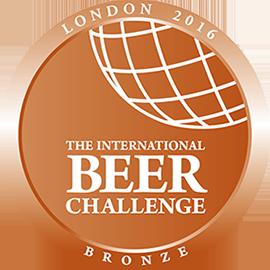 The International Beer Challenge - London Bronze 2016