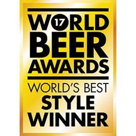 World Beer Awards - Worlds Best Style Winner - 2017